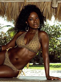 hot ebony bikini tumblr