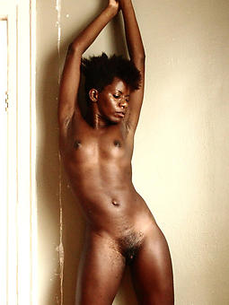 skinny ebony girl strip