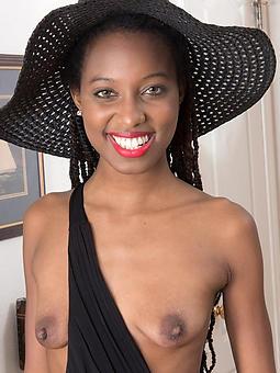 successful ebony nipples tease