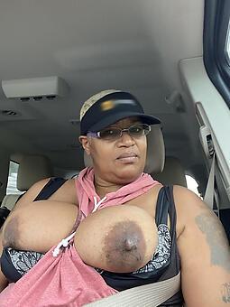 sexy jet-black grannies seduction