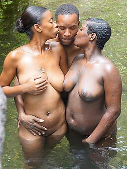 louring black threesome amature porn