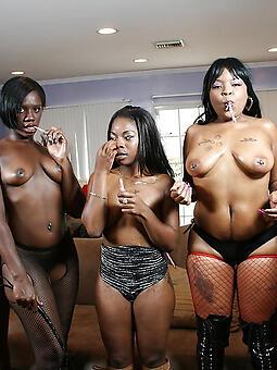 black swishy girls amateur porn pics