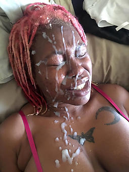 whore ebony facials compilation