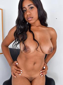 hot black tits porn pic