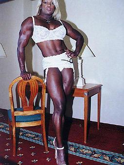 wild black muscle porn