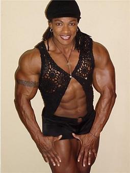 black muscle porn