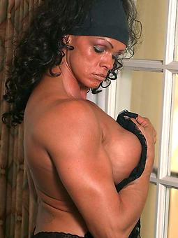 pretty ebony muscle body of men
