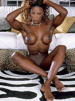 ebony muscle column porn pic