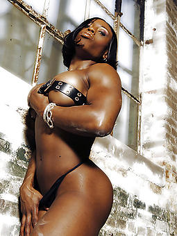 free pictures of ebony muscle women