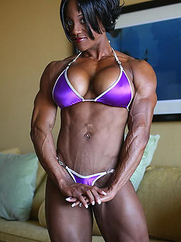 gorgeous ebony muscles pics