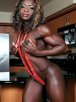 muscle ebony tumblr