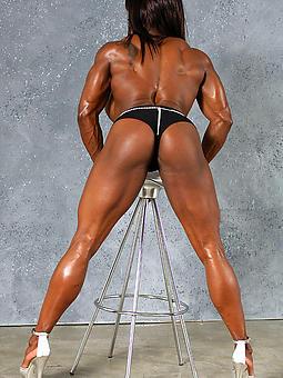 ebony muscle girls tease