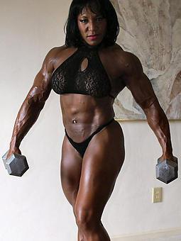 starless muscle woman blandishment