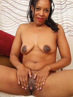 pretty superannuated black granny pussy