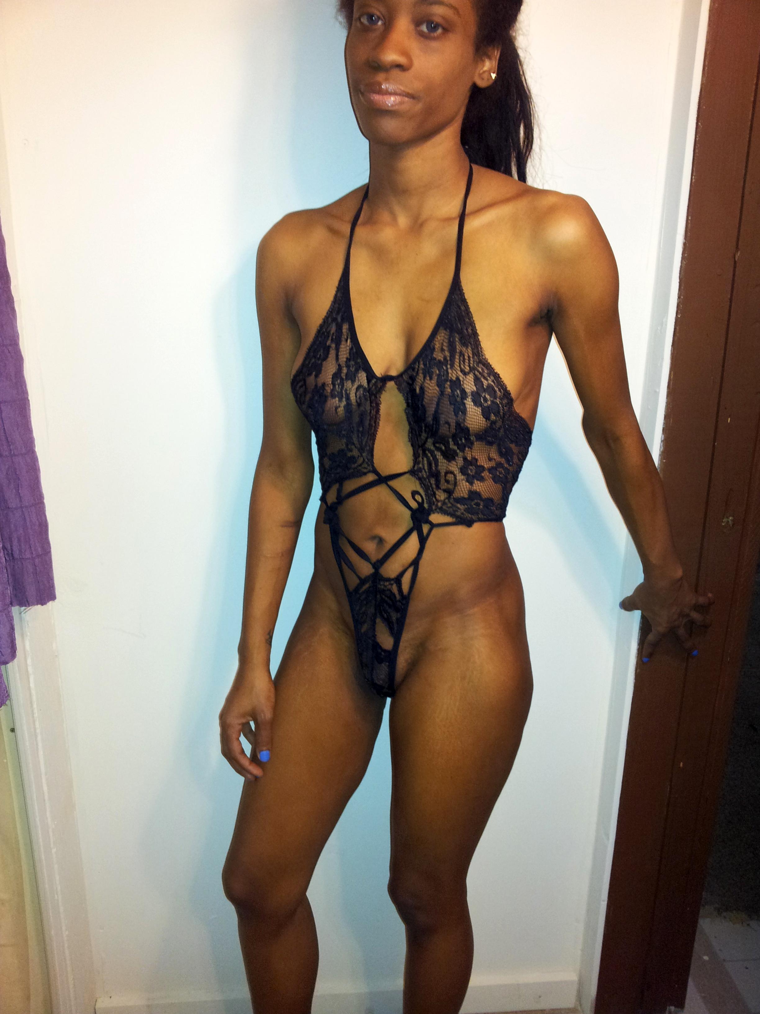 curvy black dame lingerie