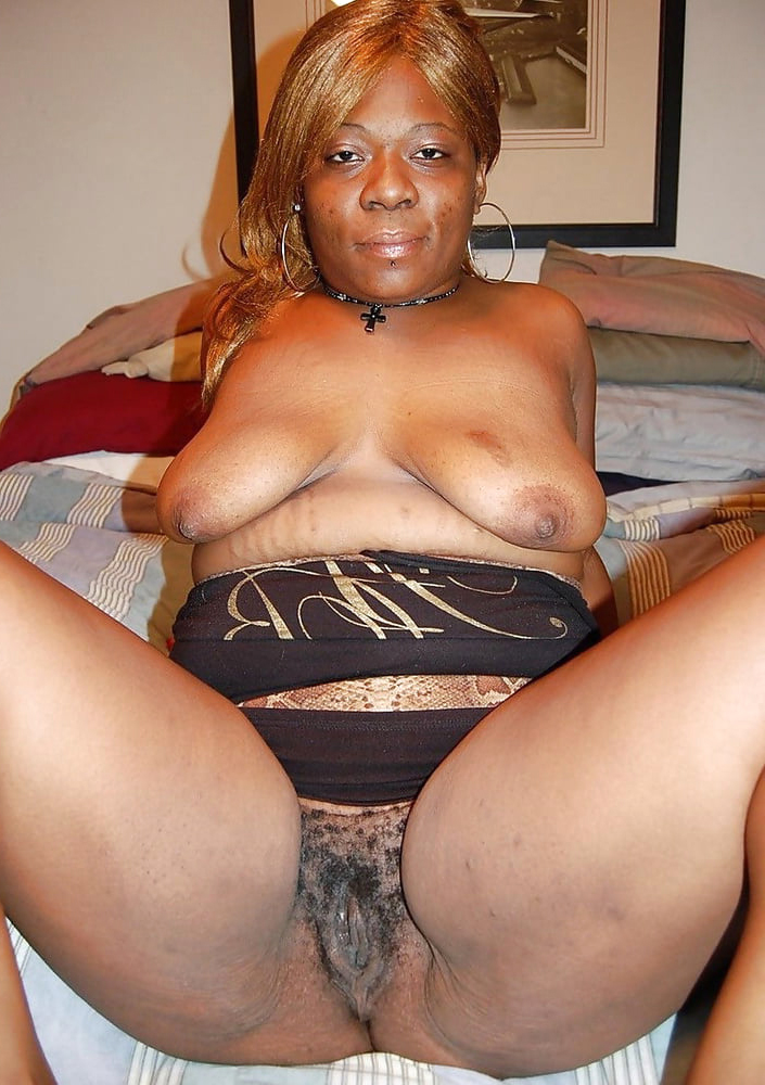 superannuated ebony granny with the addition of still sexy