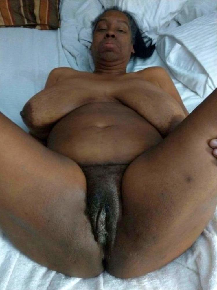 wild elderly black granny