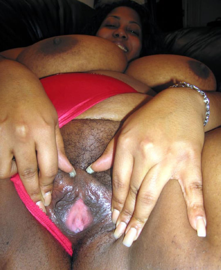 thick ebony boodle and big pussy